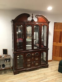 Display Cabinet Excellent Condition  Dix Hills