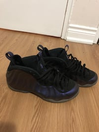 pair of black Nike Foamposite Pro shoes Toronto, M4B 1E3