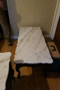 Marble topped Victorian coffee table 503 mi