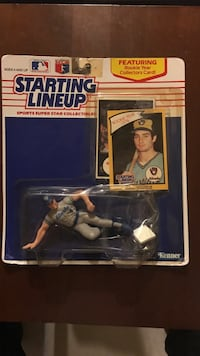 1989 Paul monitor starting lineup. Package does have damage.  Philipsburg, 16866