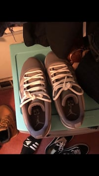 Jordan 11 lows cool grey willing to negotiate shoot me an offer willing to trade to Glendora, 08029