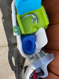 Baby bath, booster seat, potty