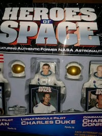 VINTAGE HEROES OF SPACE RARE NEW IN BOX  Cranston