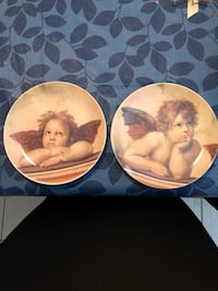Decorative Angel plates -$10 EA or $15 / both Vaughan, L6A 1W6