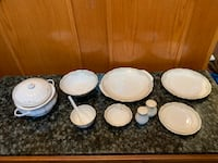 FINE BONE CHINA 37PC DINNER SET  Surrey, V3W 2M9
