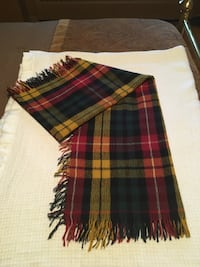 Lady's never worn bright coloured scarf with fringe on the sides Oakville, L6K 1Y8