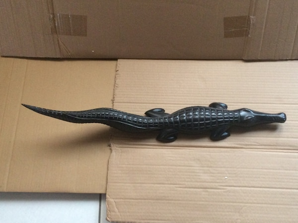 Beautiful Solid wooden Alligator
