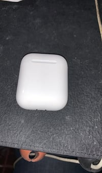 Left airpod and case