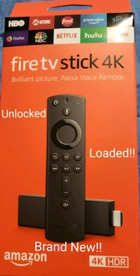 New, 4K FireTV !! The Ultimate Viewing Experience!! Brand New !!