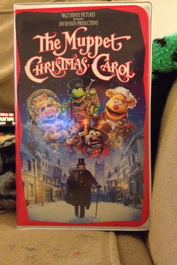 The Muppet Christmas Carol.The Muppet Christmas Carol Vhs