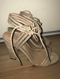 Nude Lace Up Heels Mississauga, L4Z 3Y2