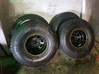 Set of 35X12.50R15 with Custom Rims