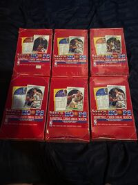 1990-91 NBA Hoops Series 2 Basketball Box Sealed Lot of 6!!! East Northport, 11731