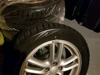 Like New Winter Tires with Subaru Alloy Wheels / Rims  Mississauga, L5V 1H9