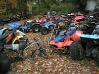 We will haul away your old junk atv, utv, atc, dirt bike, or tractor BOTHELL