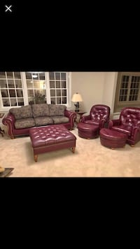Genuine leather Living room suite Temple Hills