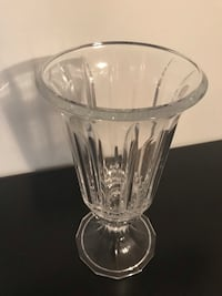 Glass vase / Florero / candelabro Woodbridge, 22193