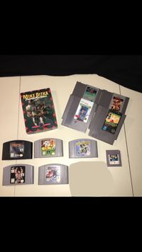 Vintage video game lot North Smithfield