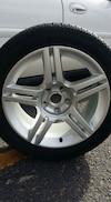 New audi wheel and tire (one)