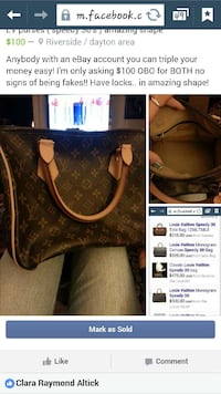 LV purse just have the 1 left Dayton, 45431