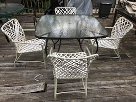 Patio Chairs - no Table