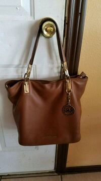 women's brown leather tote bag Pharr, 78577