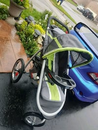 Graco fast action travel stroller. 549 km