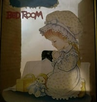 Babies Bedroom Nameplate - Mirrored back w/Sticker Johnson City, 37604