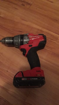 Red and black milwaukee cordless hand drill Edmonton, T5Y