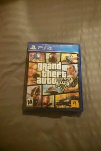 Sony PS4 Grand Theft Auto Five case Louisville, 40216