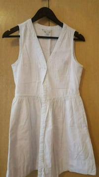 white scoop neck sleeveless dress Toronto, M6N