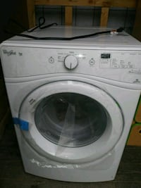 white front-load clothes washer Silver Spring, 20902