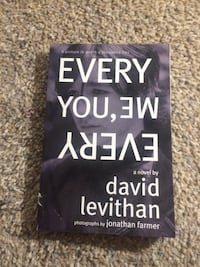 Every You, Me Every a novel by David Levithan book