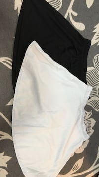 two white and black skirts Oakville, L6L