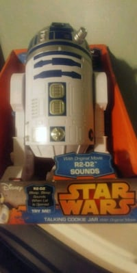 R2D2 COOKIE JAR WITH SOUND Dover, 19904