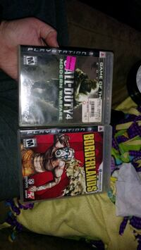 Two PlayStation 3 games