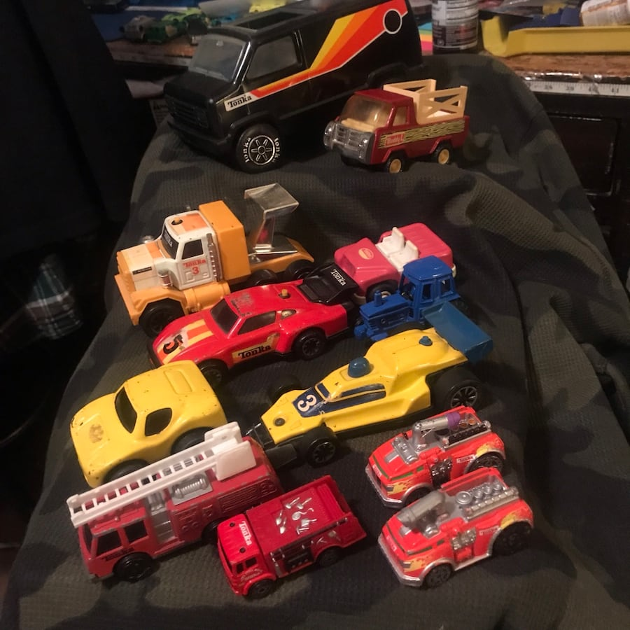 Tonka Toy vehicles Buddy L Old/Vintage Lot Of 13 D5