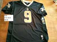 (New) New Orleans Saints Brees youth SZ XL jersey Bedford, B4A 3Y4