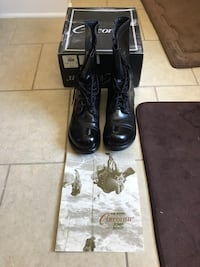 Jump boots, Corcoran, leather Fort Riley, 66442