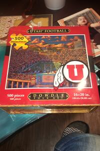 Ute puzzle 500 count brand new never opened