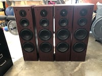 Home theater tower speakers 618 mi