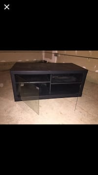 Black wooden tv stand Haymarket, 20169