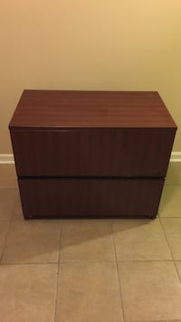 Wood drawers or filing cabinet