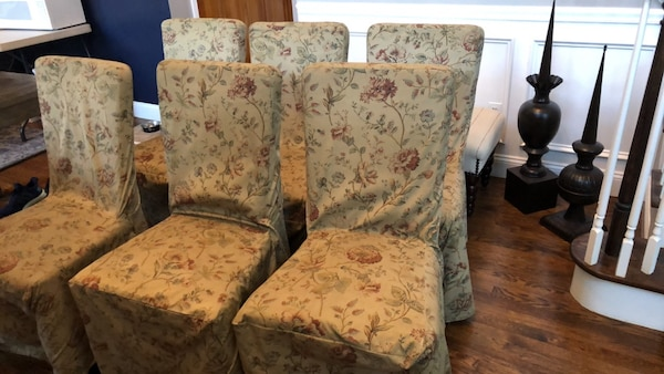 6 Pottery Barn Dining Chairs