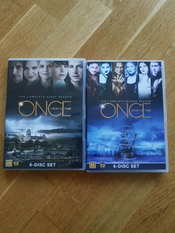 Once upon a time sesong 1&2