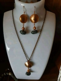 Penny Jewellery ( set earrings and pendant) Dufresne, R0A 0J0