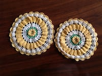 2 Vintage Hand Crocheted Covers Brantford, N3R 0A1