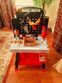Red and black craftsman table saw Fairfax Station, 22039