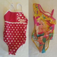 3 Bathing suits Size 3 for little girls