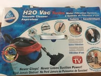 H2O VAC TURBO vacuum cleaner with HEPA filtration Mississauga, L5A 3G2
